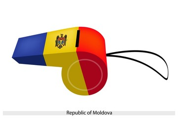A Whistle of The Republic of Moldova