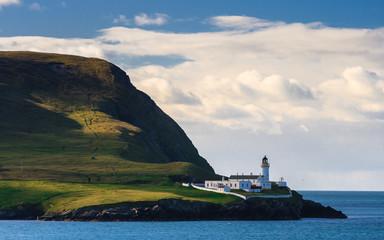 Light house on an island