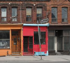 old tattoo shop
