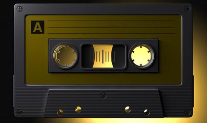 Nostalgic Macro Cassette Tape
