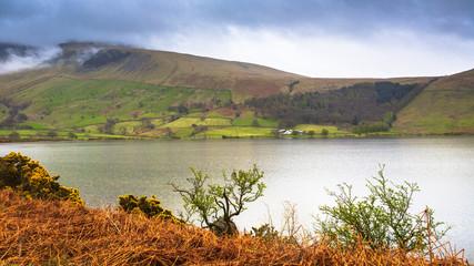 Beautiful landscape of Lake District