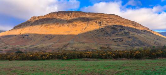 Beautiful mountain with morning light