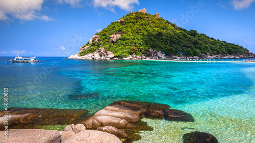 Beautiful Paradise Tropical Island, Koh Tao, Thailand