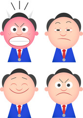 Funny Businessman Set