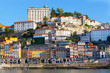 View of the embankment , Ribeyr, Porto, Portugal