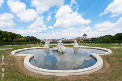 Belvedere  a palace complex in Vienna