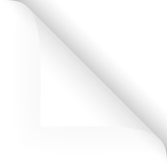 Papier - Ecke oben weiß