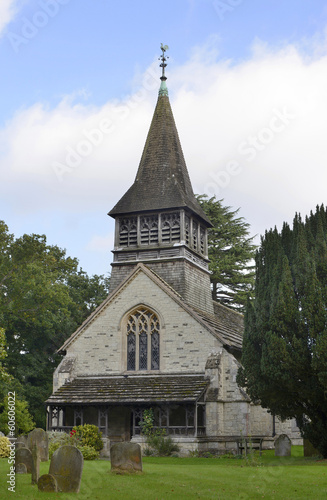 Church at Leigh in Surrey. England