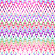 Colorful grungy zigzag pattern