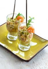 Salad avokado