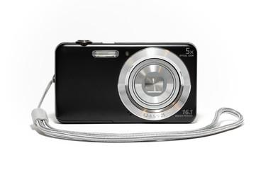 Fotocamera compatta digitale con laccetto