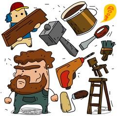 Carpenter and contruction set