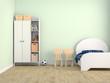 bed kid room