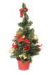 Artificial Christmas fir