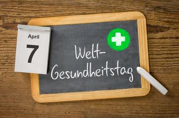 Am 7. April ist Weltgesundheitstag