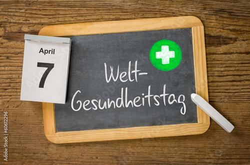 Am 7. April ist Weltgesundheitstag - 60612296