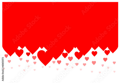 hearts background vector, eps 10