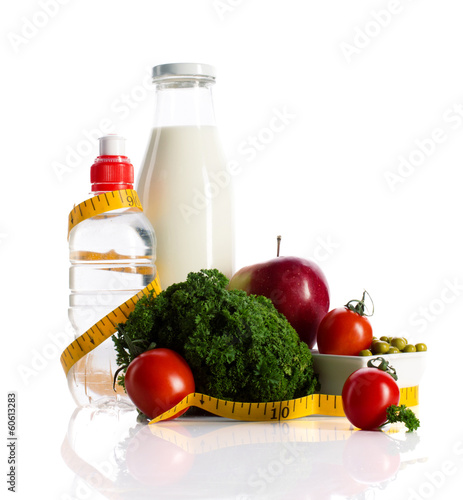 healthy  nutrition for dieting concept