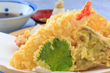Japanese cuisine Tempura , the traditional food in Japan