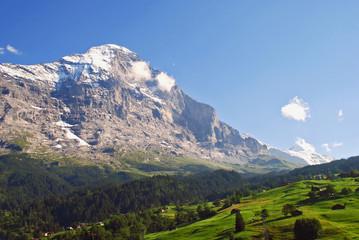 Die legendäre Eiger-Nordwand im Berner Oberland