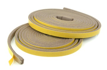 Rolls self adhesive draft exclusion insulation foam band