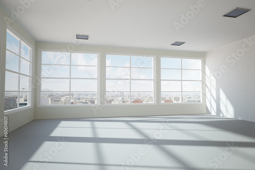 canvas print picture Empty modern office room