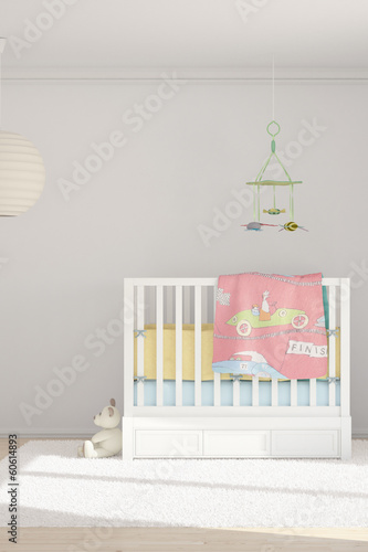 Children room with toys