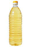 Bottle with sunflower oil