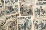 antique french fashion magazine La Mode Illustree