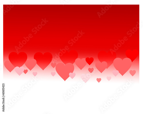 hearts background vector eps 10