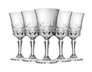 Wine glass empty