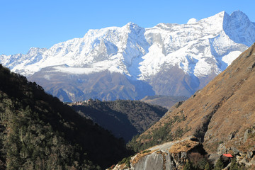 nupla and tartikha peak  from nepal