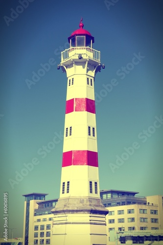 Malmo lighthouse - cross processing color tone