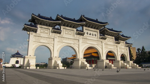 Taipei Kai-Shek memorial hall time lapse