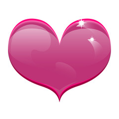Pink Heart Valentine's Day