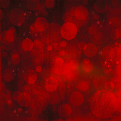 red defocused lights background. abstract Bokeh red lights