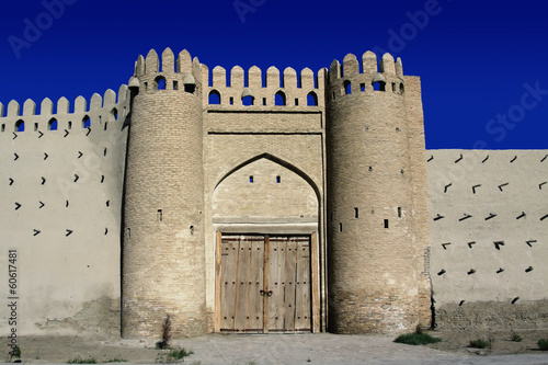 Talipach gate of ancient Bukhara