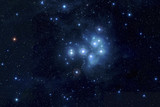 Pleiades in deep space, Elements of image furnished by NASA - 60618431