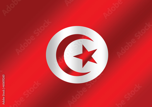 Tunisia Flag themes idea design