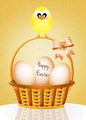 Greeting Easter