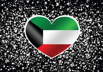 Kuwait Flag themes idea design