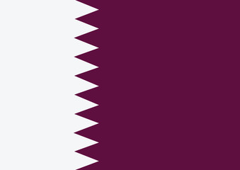 Qatar Flag themes idea design