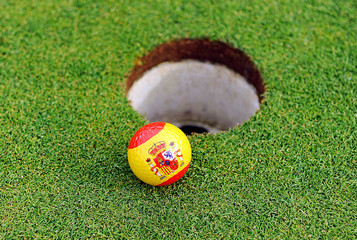 Golf in Spain, golf ball