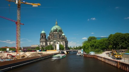 Berliner Dom, Timelapse, Zeitraffer