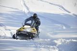 Fototapety snowmobile