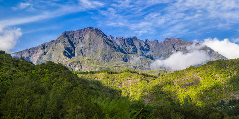 Panorama of Piton de Neiges, La Réunion