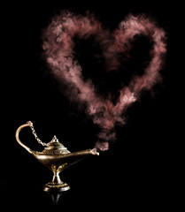 Magic Lamp with love elexir