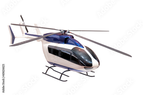 model of a helicopter