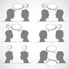 men's conversations to the expression of emotions