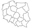 Map of Poland - 60628230